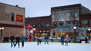 downtown ice rink opens in grand forks grand forks herald