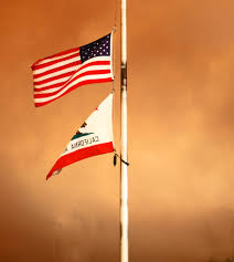California State Flag Meaning File United States Flag And California Flag 3869000495 Jpg