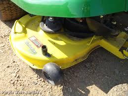john deere x300r lawn mower item dl9013 sold september
