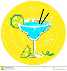 cocktail clipart blue margarita retro cocktail icon stock vector image 16597409