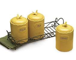 yellow canister sets kitchen 78 best canisters and jars images on antique silver