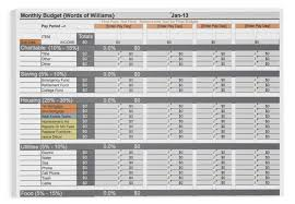 Budget Calculator Spreadsheet by Budget Spreadsheet Words Of Williams