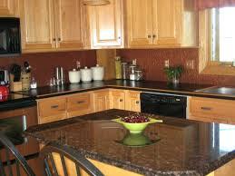 oak kitchen island with granite top oak kitchen island black granite top oak kitchen cabinets