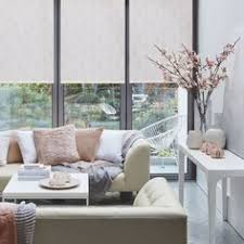 Shabby Chic Kitchen Blinds Use Pattern To Lift An Interior Of A Neutrally Decorated Room Mix