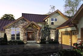 Cabin Style Home Plans Rustic Modern House Plans With Farm Style Decoration Small Stone