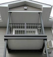 aluminum decking u0026 deck rail wahoo complete multifamily balcony