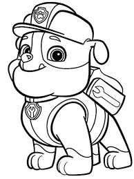 strikingly beautiful paw patrol coloring book paw coloring pages