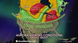 best place to watch the northern lights in canada post best places to view the solar storm s northern lights in