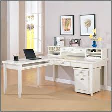 L Shaped Desk White L Desk White L Shaped Desk With Hutch Starting At More Corner Desk