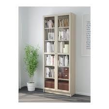 billy bookcase with doors beige glass doors doors and ikea