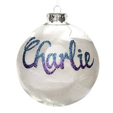 Cheap Personalised Christmas Decorations Personalised Christmas Baubles The Cutest Ornament On The Tree