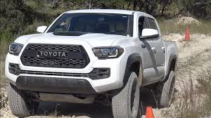 toyota tacomas road drive in the 2017 toyota tacoma trd pro king of