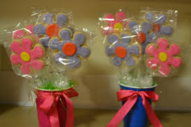 cookie bouquet how to make a cookie bouquet she bakes and creates