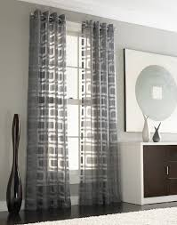 window treatment living room gray colored sofa wooden laminate