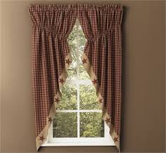 Lined Swag Curtains 72