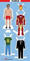 dressed war captain america u0026 iron man paper dolls printable