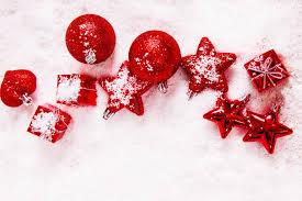 balls bulbs red star toys christmas christmas scenery winter snow