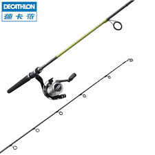 canne si e decathlon decathlon canne da pesca in carbonio set richiamo 270 dritto 2 7 m