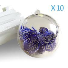 aliexpress buy 20pcs 10cm baubles transparent fillable