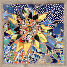 Diy Mosaic Table Diy Mosaic Table Top Ideas Kit Uk Kits Mosic Tble Mosics Glss Nd