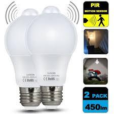 light sensor light bulbs motion night lights sensor bulb 5w smart led bulbs pir detector l