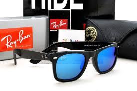 Jual Frame Ban Wayfarer mr tony garage ban wayfarer shining black frame blue lens