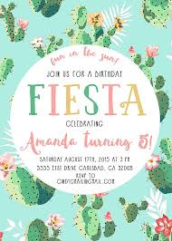 fiesta birthday party invitations amitdhull co
