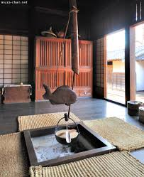 traditional japanese house irori
