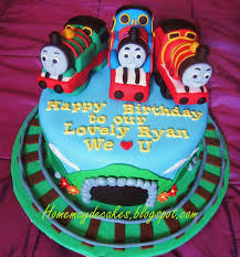 u0027de cakes making thomas train friends percy