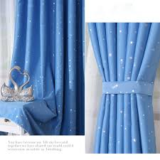 Curtains Show Discount Blue Kids Room Blackout Curtains Made Of Poly Buy Blue