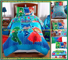 pj masks hero twin bed bag bedding comforter