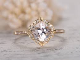 promise ring vs engagement ring 1 6ct cushion vs white topaz engagement ring solid 14k yellow gold