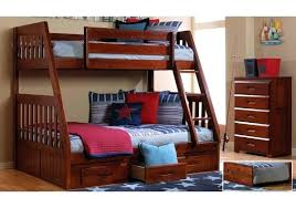 Bunk Bed With Storage Stairs Bunk Bed With Stairs Loft Bed In Finish Decorating