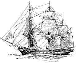 frigate kids coloring pages pinterest woodburning