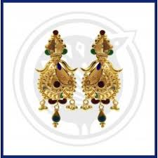 bengali earrings sree kumaran stud