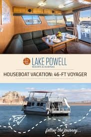 the voyager economy houseboat available for rent at lake powell