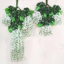 fake hanging flowers wedding pcs romantic artificial flowers