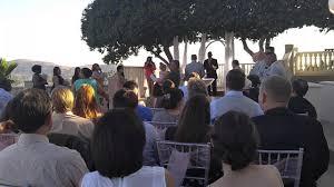 coco palm wedding wedding ceremony the coco palm restaurant in pomona california