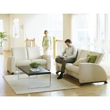 stressless by ekornes stressless arion high back reclining 3 seat