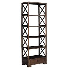 Leaning Shelves From Deger Cengiz by Put A Drawer On The Bottom Of The Bookcase Open Back Bookcase