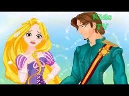 download rapunzel design rainbow dress disney princess dress up