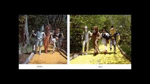 then and now land of oz youtube