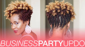 flat twists and curls updo natural hair