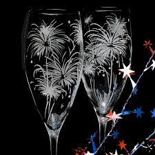 new years chagne flutes 2 fireworks wedding chagne flutes sparkler wedding glasses