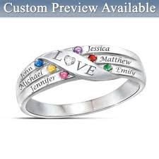 grandmother birthstone jewelry birthstone jewelry for grandmother bradford exchange