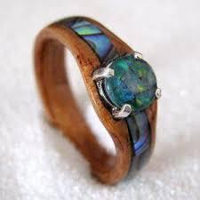 Wood Wedding Rings by Best 25 Wood Rings Ideas On Pinterest Cool Wedding Rings Cool