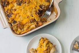 thanksgiving leftovers breakfast casserole savvy eats