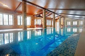 indoor pools in mansions rejuvenating indoor swimming pool area