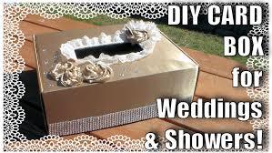 card box for weddings or showers diy wedding youtube