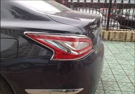 nissan altima tail light cover abs chrome rear tail light l cover trims for nissan teana altima